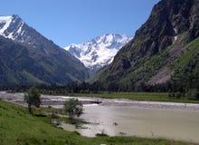 горы caucasus Стоковое Изображение RF
