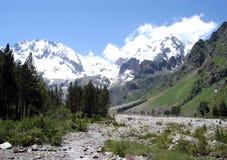 горы caucasus Стоковые Фото