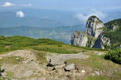 Горы Ceahlau, Румыния стоковые фотографии rf