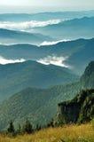 Горы Ceahlau, Румыния стоковые изображения rf