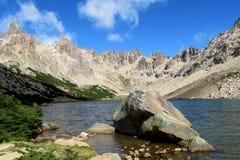 Горы Cerro Catedral в Bariloche Стоковое Изображение