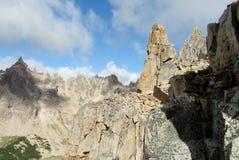 Горы Cerro Catedral в Bariloche Стоковое фото RF
