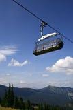 горы chairlift Стоковая Фотография RF
