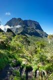 горы cirque de mafate Стоковая Фотография RF