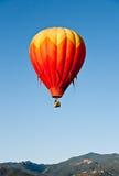 горы colorado воздушного шара над красным цветом Стоковое Изображение RF