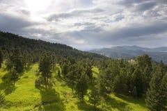 горы colorado утесистые Стоковые Фото