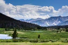 горы colorado утесистые Стоковое Фото