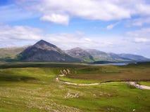 горы connemara Стоковое Изображение RF