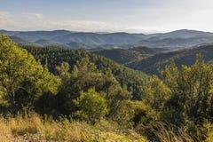 Горы Corbieres, Франция стоковое фото rf