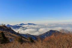 Горы Deogyusan Стоковая Фотография