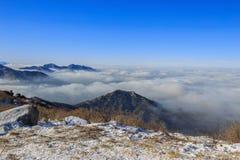 Горы Deogyusan стоковое изображение
