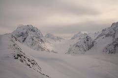 Горы Dombay стоковая фотография rf