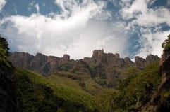 Горы Drakensberg Стоковое Изображение