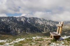 Горы Durmitor национального парка, Черногория Стоковые Фотографии RF