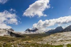 Горы Durmitor национального парка, Черногория Стоковая Фотография RF