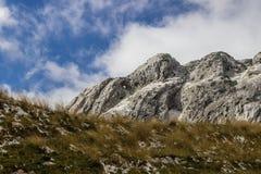 Горы Durmitor национального парка, Черногория Стоковое Изображение RF