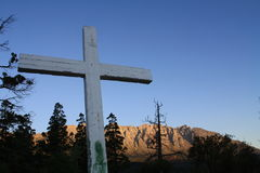 горы el bolson перекрестные Стоковое Изображение RF