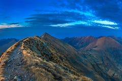 Горы Fagaras, южное Карпат Стоковые Изображения RF