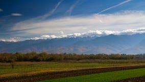 Горы Fagaras Стоковые Фото