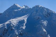 Горы Fagaras Стоковое Изображение RF