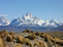 Горы Fitz Роя - Патагония - El Chaltén, Аргентина Стоковая Фотография RF
