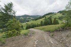 Горы Gorce Стоковое Изображение RF