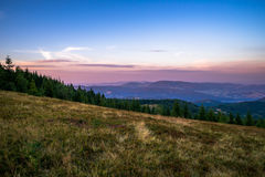Горы Gorce Стоковые Изображения