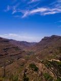горы gran canaria Стоковое Изображение