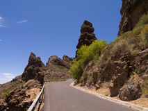 горы gran canaria Стоковые Фотографии RF