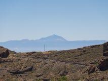 горы gran canaria Стоковая Фотография