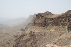 горы gran canaria Стоковые Фото