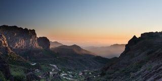 горы gran canaria Стоковое фото RF