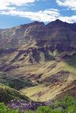 горы gran canaria Стоковое Фото
