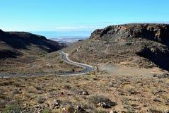горы gran canaria Стоковые Изображения RF
