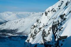 Горы Hibiny на зиме Стоковое Фото