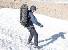 горы hiker Стоковая Фотография RF