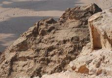 горы jebel hafeet Стоковые Фото