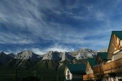 горы kananaskis Стоковое Изображение