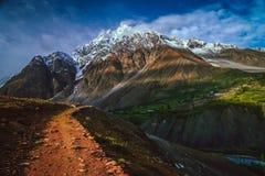 Горы Karakorum Стоковые Фото