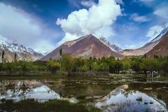 Горы Karakorum Стоковое Фото