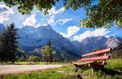 Горы Karwendel Стоковая Фотография RF