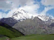 Горы Kazbek Стоковые Фотографии RF