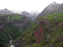 Горы Kazbek Стоковая Фотография RF
