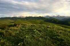 Горы Kirgistan стоковое фото