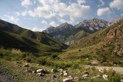 горы kyrgyzstan Стоковое Изображение RF