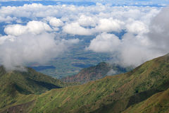 Горы Livingstone стоковые фотографии rf