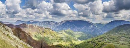 Горы Mehedinti стоковые фотографии rf