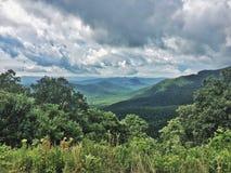 Горы NC Стоковая Фотография
