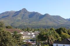 Горы Outeniqa, Джордж, западная накидка, Южная Африка Стоковое Изображение
