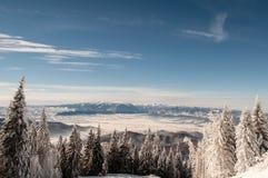 Горы Piatra Craiului Стоковые Изображения RF
